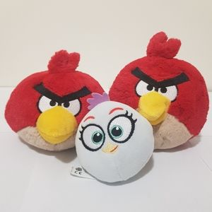 Angry Birds Terrence Stella Plush Talks Soft Toy